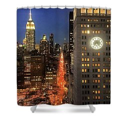 This Is My City Shower Curtain