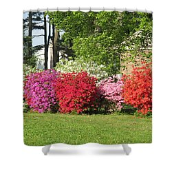 This Is Spring In Pa Shower Curtain by Jeanette Oberholtzer