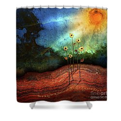 This Is The Day Shower Curtain