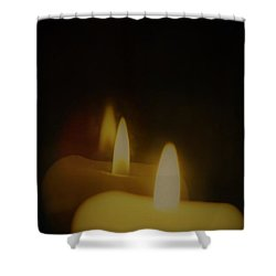 This Little Light Of Mine Shower Curtain by John Glass