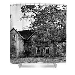 This Old House 2 Shower Curtain by Gary Hall