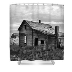 This Old House Shower Curtain by Jim Walls PhotoArtist