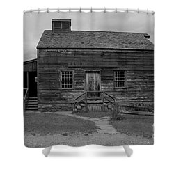 This Old House Shower Curtain by Kathleen Struckle
