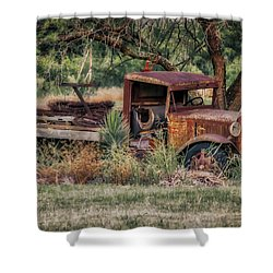 This Old Truck Shower Curtain