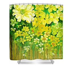 This Summer Fields Of Flowers Shower Curtain