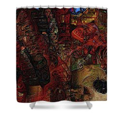This Time The Dream's On Me Shower Curtain