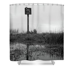 Shower Curtain featuring the photograph This Way To Darwen by RKAB Works