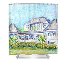 Thistle Lodge Casa Ybel Resort  Shower Curtain