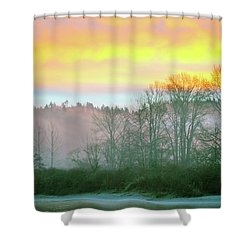 Thomas Eddy Sunrise Shower Curtain