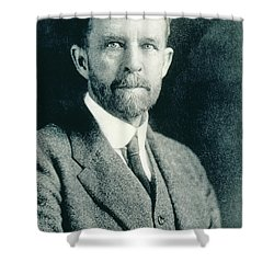 Thomas Hunt Morgan, American Geneticist Shower Curtain by Photo Researchers, Inc.