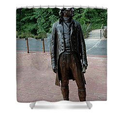 Thomas Jefferson At Monticello Shower Curtain