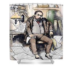 Thomas Nast (1840-1902) Shower Curtain by Granger