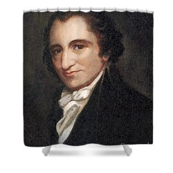 Thomas Paine, American Founding Father Shower Curtain by Photo Researchers