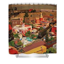 Thomas Town Train Art Shower Curtain