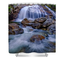 Thompson Falls, Pinkham Notch, Nh Shower Curtain