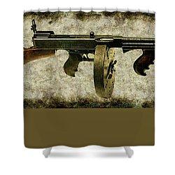 Thompson Submachine Gun 1921 Shower Curtain