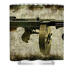 Thompson Submachine Gun 1921 Shower Curtain