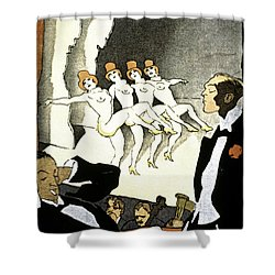 Thony: Nacktkultur, 1926 Shower Curtain by Granger