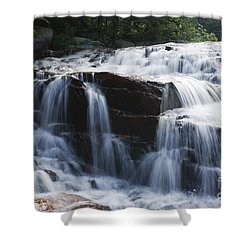 Thoreau Falls - White Mountains New Hampshire Usa Shower Curtain by Erin Paul Donovan