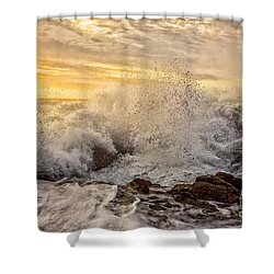 Thor's Wave Shower Curtain