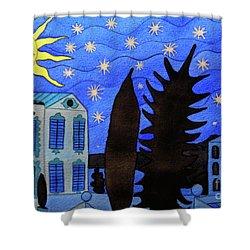 Those Romantic Nights Shower Curtain