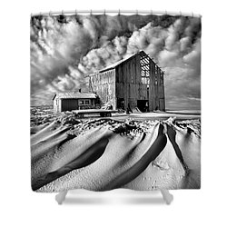 Shower Curtain featuring the photograph Those Were The Days by Phil Koch