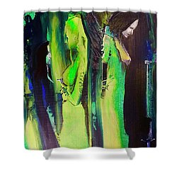 Thoughtful Gathering Shower Curtain