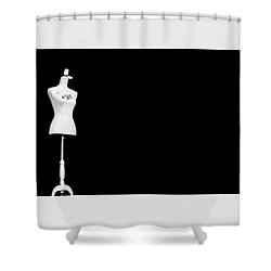 Thoughtless Shower Curtain by Jani Freimann