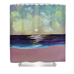 Thoughtless, Timeless Shower Curtain