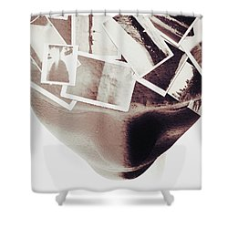 Thoughts And Creation Shower Curtain