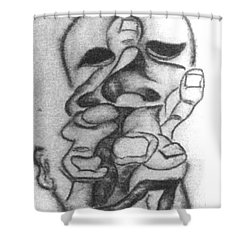 Thoughts And Thinking  Shower Curtain
