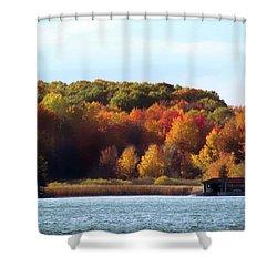 Thousand Island Color Shower Curtain