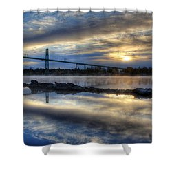 Thousand Islands Bridge Shower Curtain