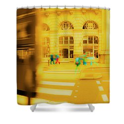 Threadneedle Street Shower Curtain