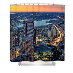 Threads Of Life Shower Curtain