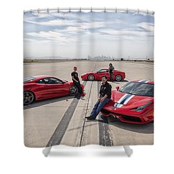 Three Amigos Shower Curtain