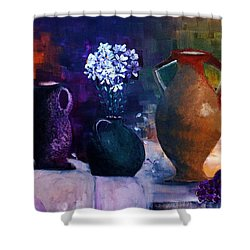 Three Best Friends Shower Curtain by Lisa Kaiser