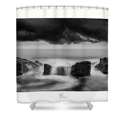 Three-body Problem Shower Curtain
