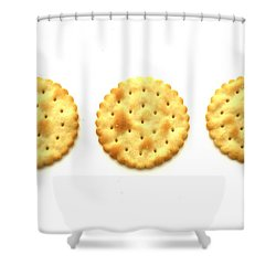 Three Crackers Shower Curtain