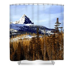 Three Fingered Jack Shower Curtain