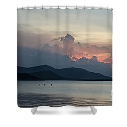 Three Fishermen Shower Curtain