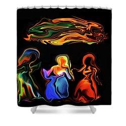 Three Ladies Shower Curtain