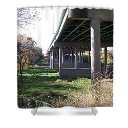 Three Pathways Shower Curtain