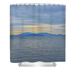 Three Realms/dusk Shower Curtain