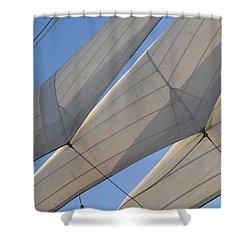 Three Sails Shower Curtain
