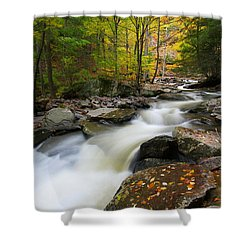 Three Seconds In Fall Shower Curtain