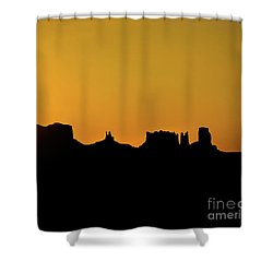 Three Sisters Backlight Shower Curtain