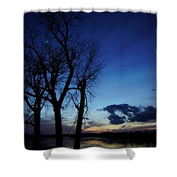 Shower Curtain featuring the photograph Three Sisters by Cricket Hackmann