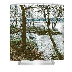 Three Sisters Island Shower Curtain