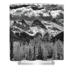Three Sisters Shower Curtain